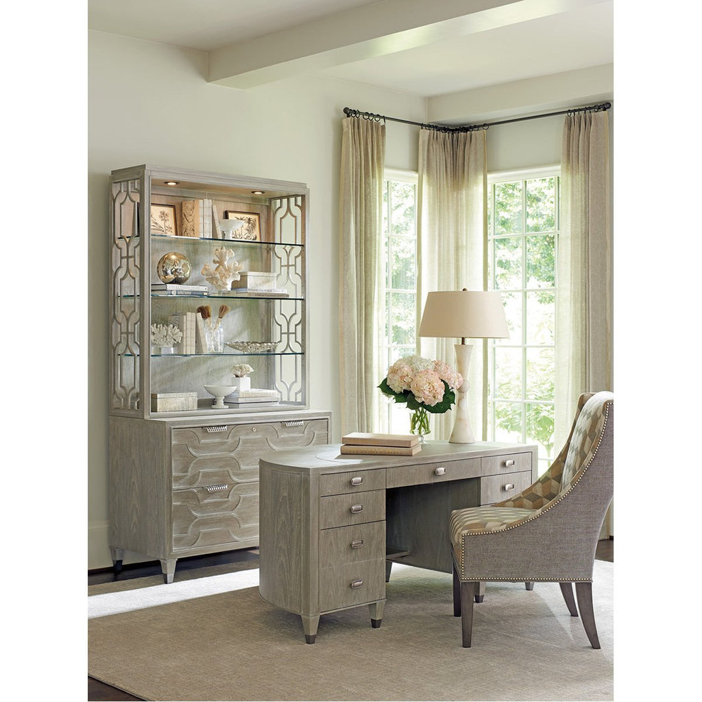 Sligh Greystone Dylan Demilune Desk