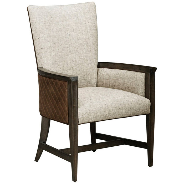 A.R.T. Furniture Woodwright Racine Upholstered Arm Chair, Set of 2