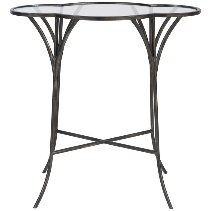 Uttermost Adhira Glass Accent Table