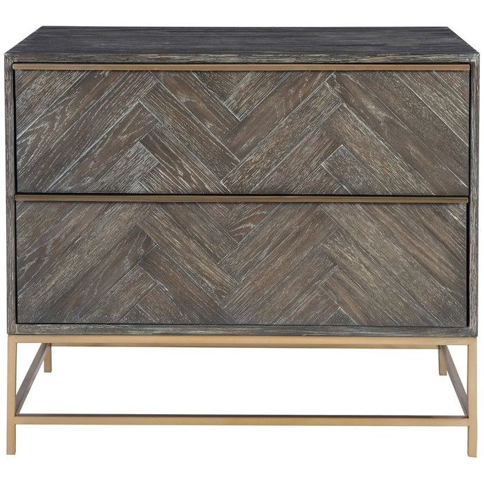 Uttermost Armistead Dark Walnut Drawer Chest