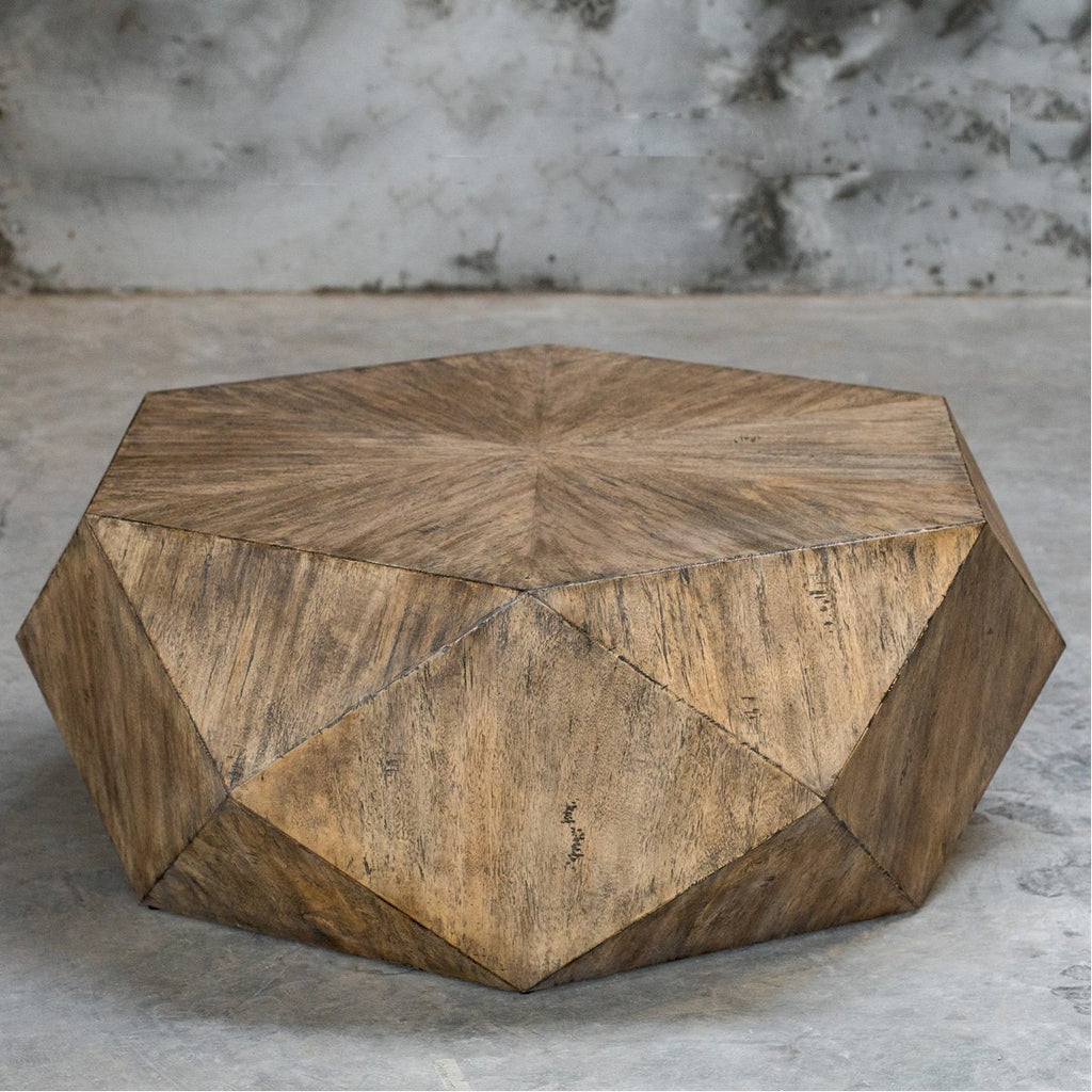 Uttermost Volker Honey Coffee Table