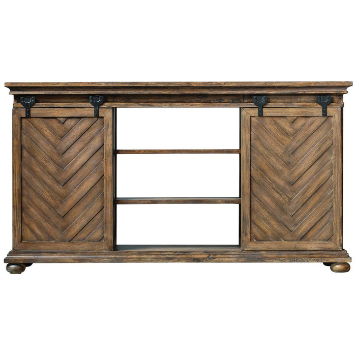 Uttermost Primalia Barn Door Media Console