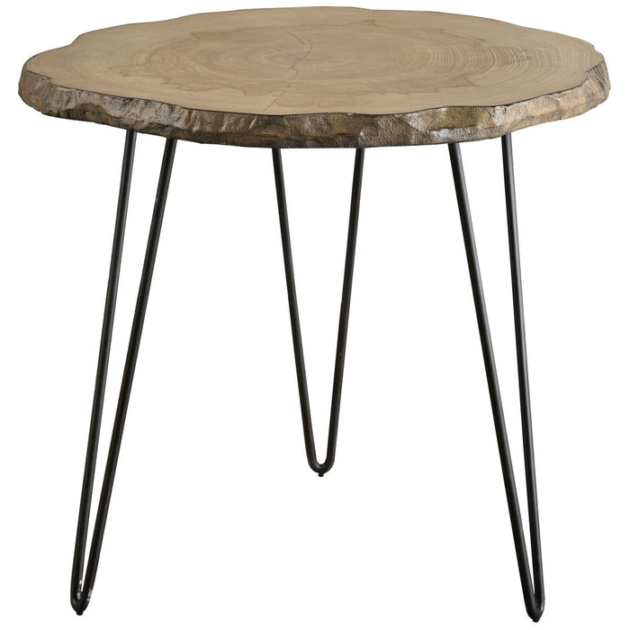 Uttermost Runay Wood Slab Side Table