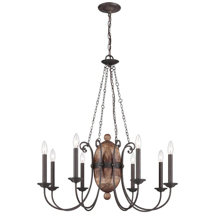 Eurofase Albero 8-Light Chandelier