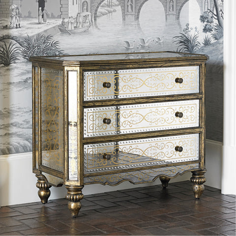 Ambella Home Voranado Scrolling Accent Chest