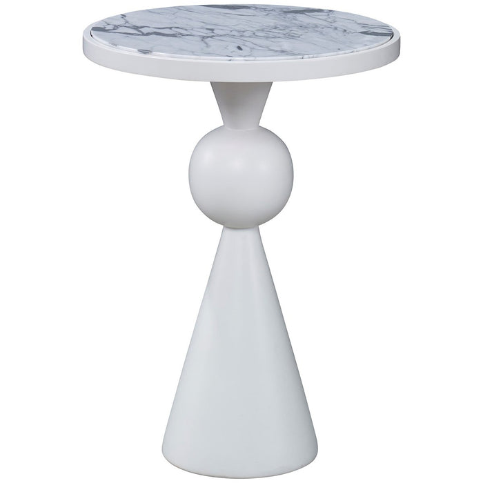 Ambella Home Minaret Accent Table - White