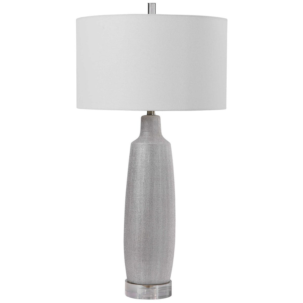Uttermost Kathleen Metallic Silver Table Lamp