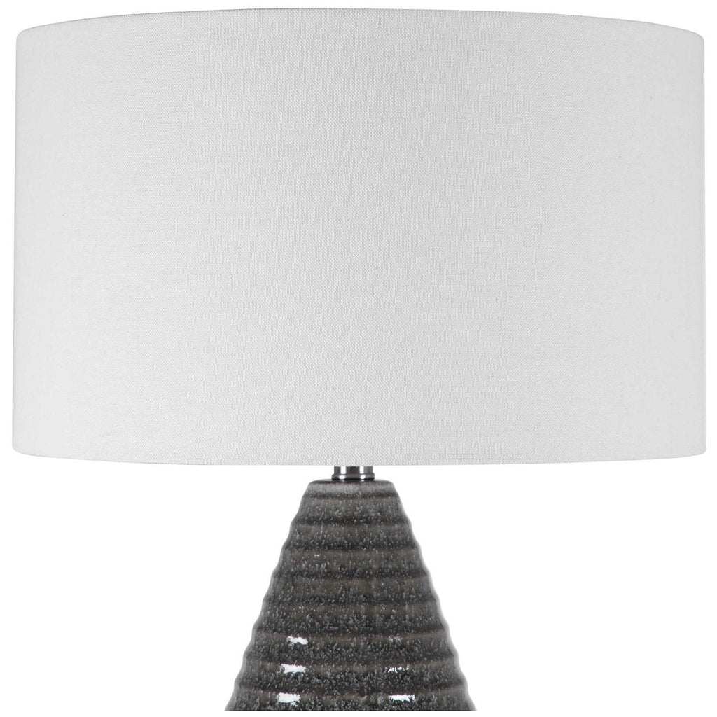 Uttermost Carden Smoke Gray Table Lamp