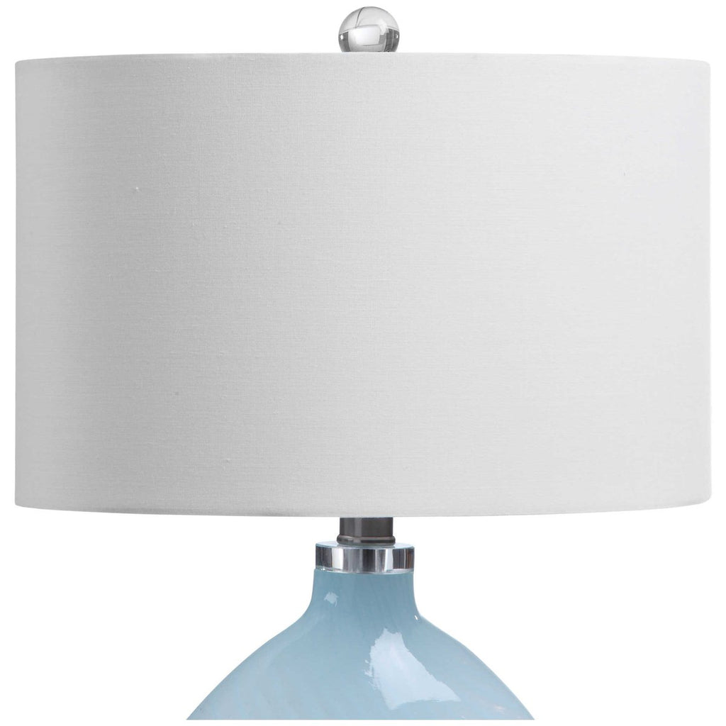Uttermost Aquata Glass Table Lamp