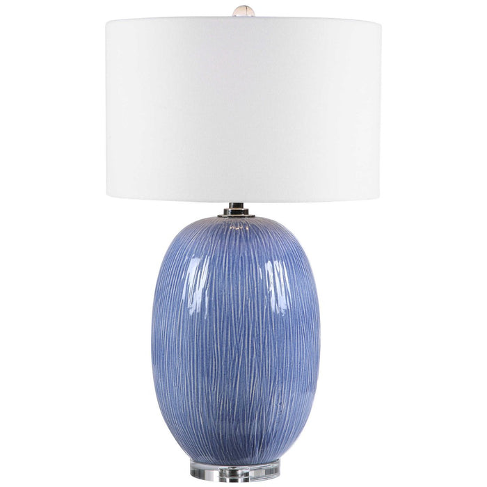 Uttermost Westerly Blue Table Lamp