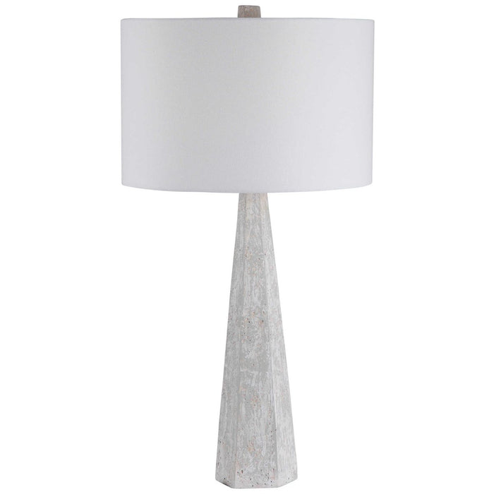 Uttermost Apollo Concrete Table Lamp