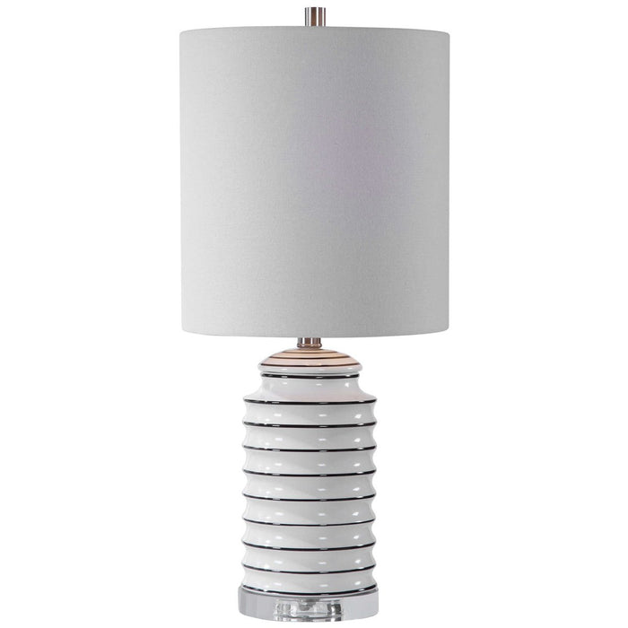 Uttermost Rayas White Table Lamp