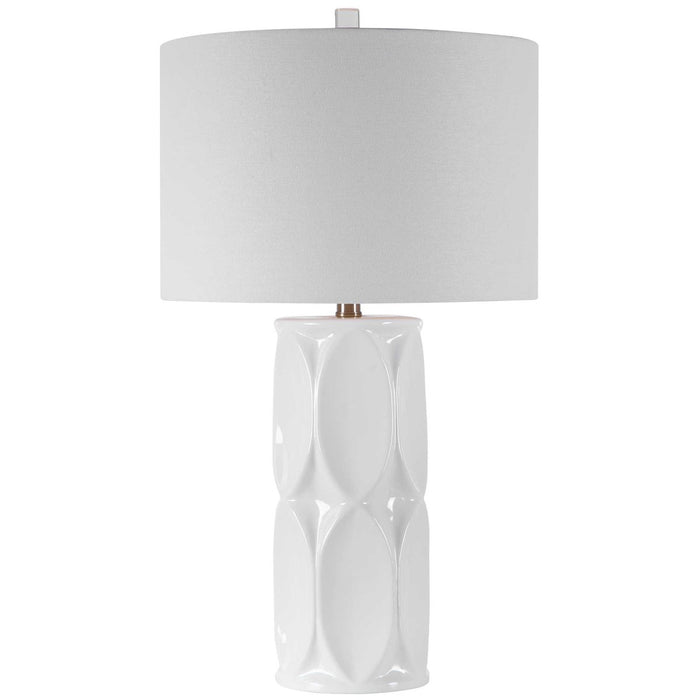 Uttermost Sinclair White Table Lamp