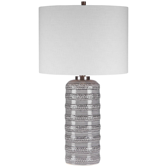 Uttermost Alenon Light Gray Table Lamp