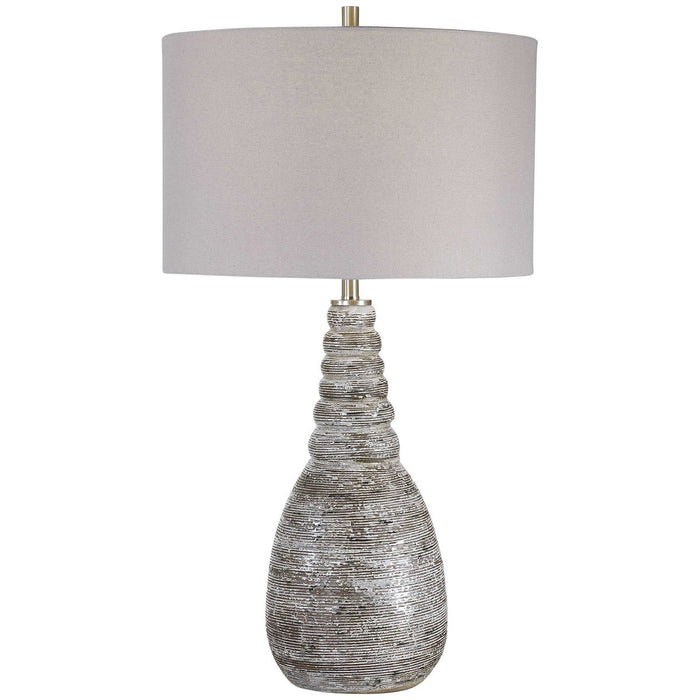Uttermost Arapahoe Rust Brown Table Lamp