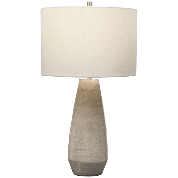 Uttermost Volterra Taupe-Gray Table Lamp
