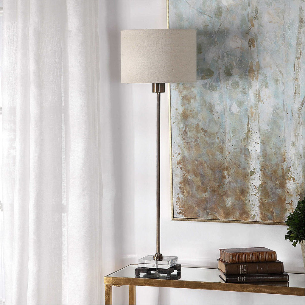 Uttermost Danyon Brass Table Lamp