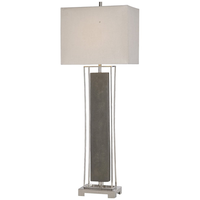 Uttermost Sakana Gray Buffet Lamp