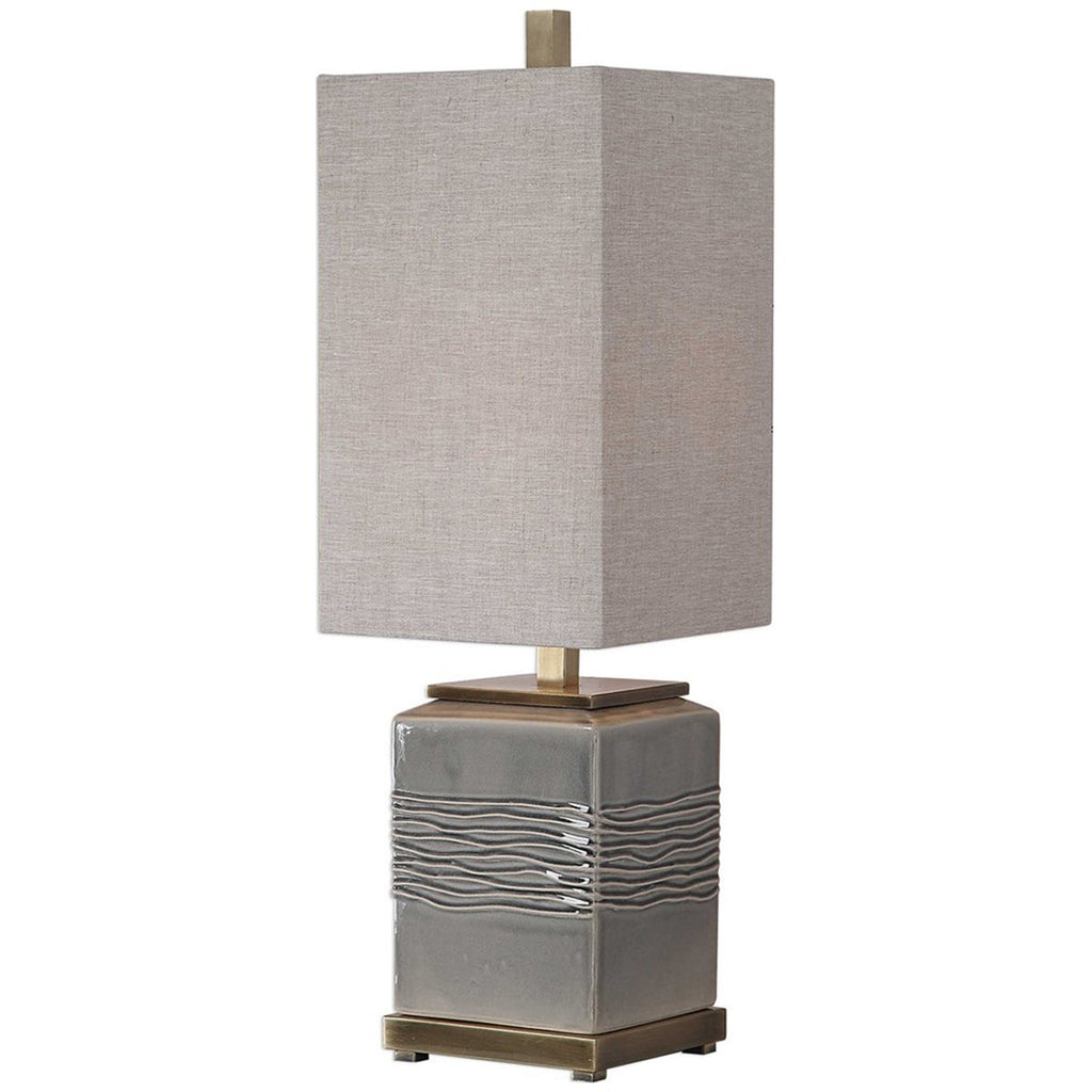 Uttermost Covey Gray Glaze Buffet Lamp