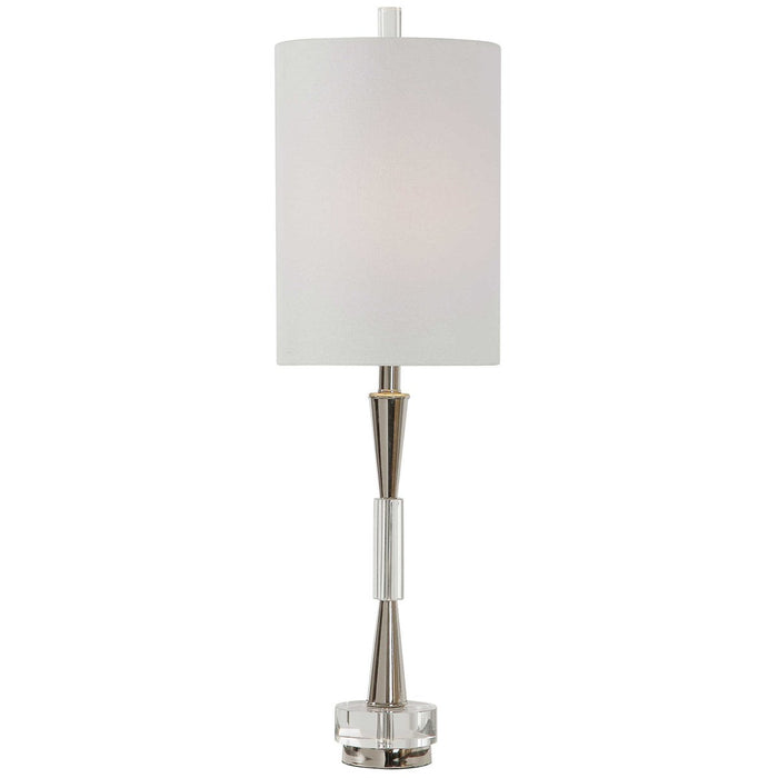 Uttermost Azaria Polished Nickel Buffet Lamp