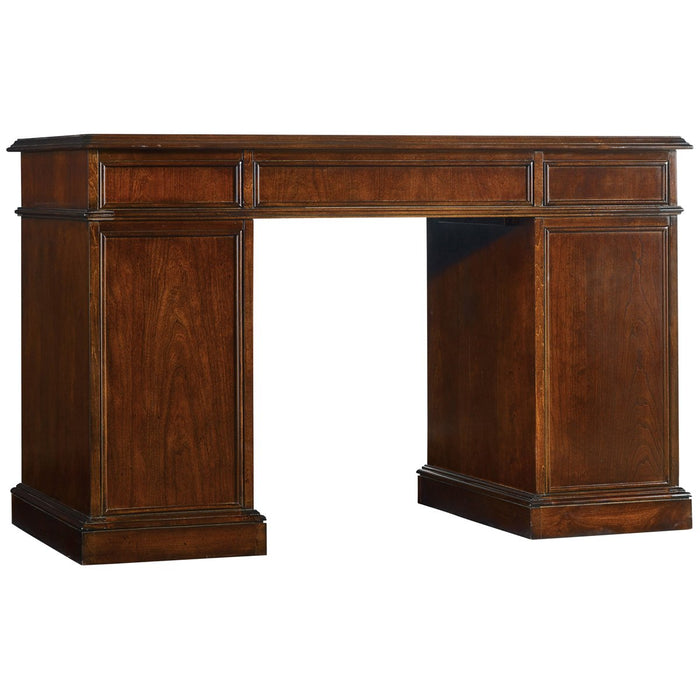 Hooker Furniture Cherry Knee-Hole Desk - Bow Front