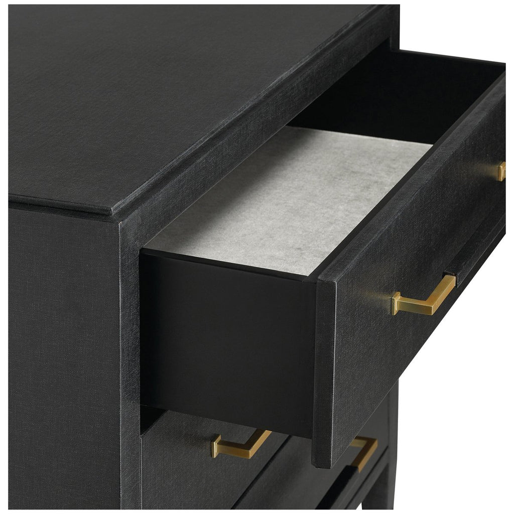 Currey and Company Verona Black Chest