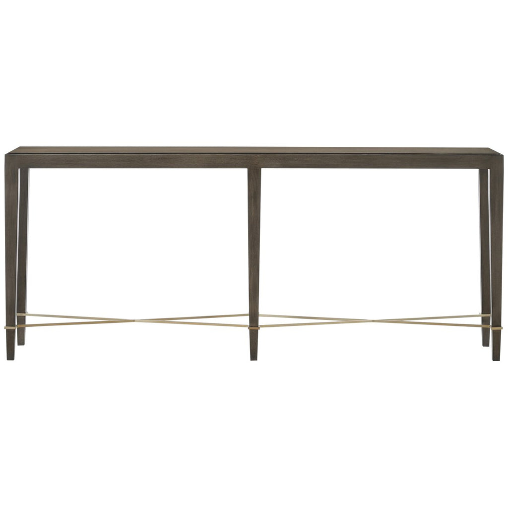 Currey and Company Verona Chanterelle Console Table