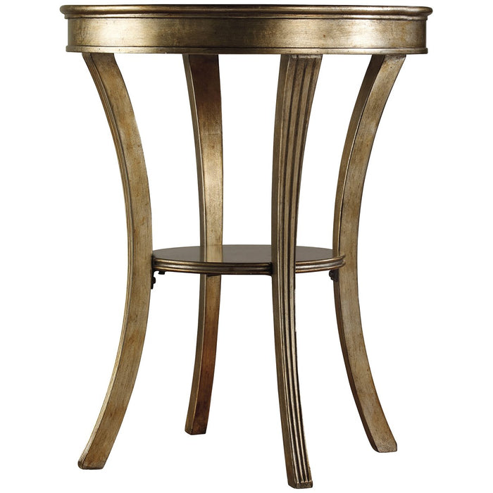 Hooker Furniture Sanctuary Round Mirrored Accent Table - Visage