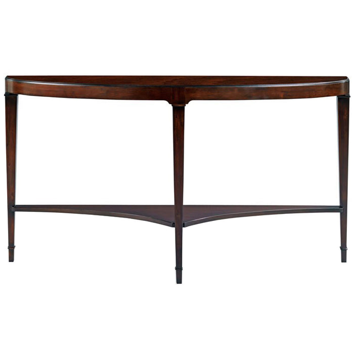 Woodbridge Furniture Addison Demi Lune Console Table
