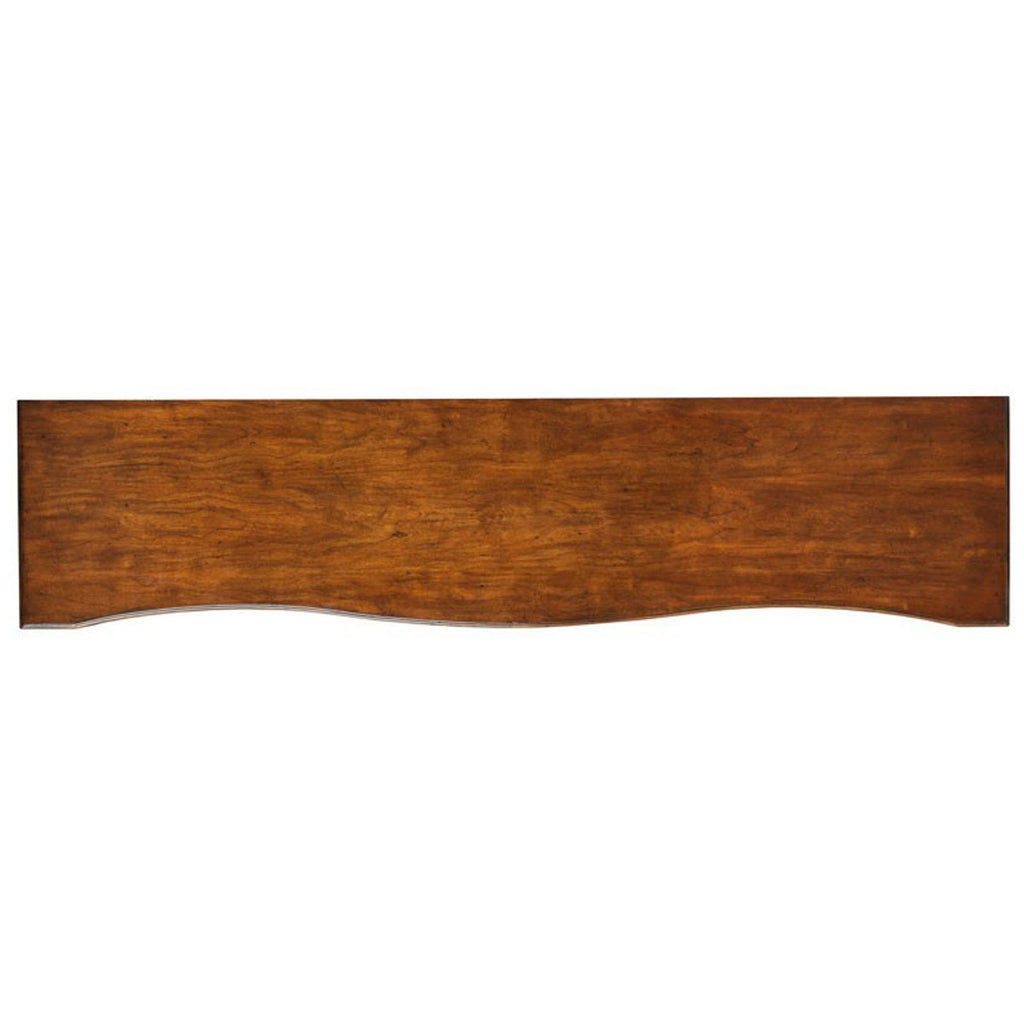 Woodbridge Furniture Serpentine Console Table