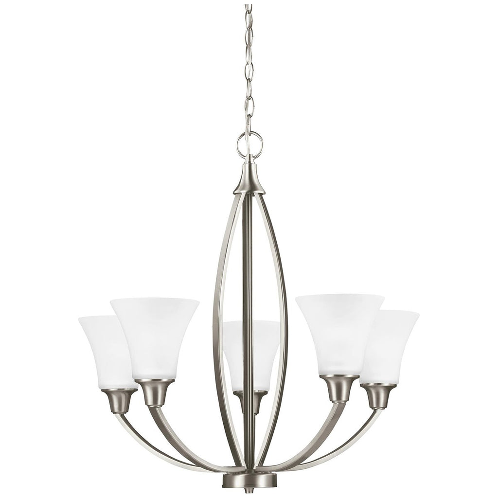 Sea Gull Lighting Metcalf Transitional Five Lights Chandelier