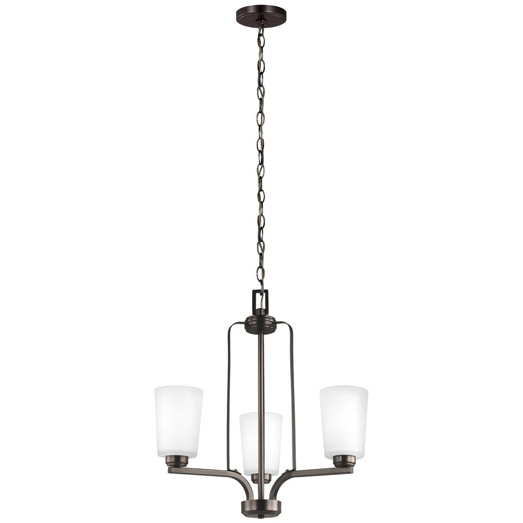 Sea Gull Lighting Franport 3-Light Chandelier