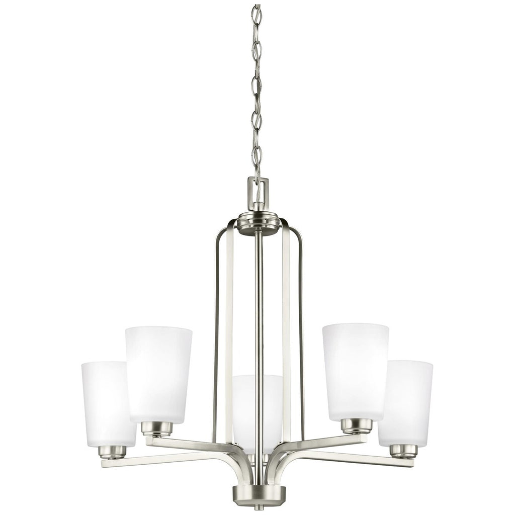 Sea Gull Lighting Franport 5-Light Chandelier