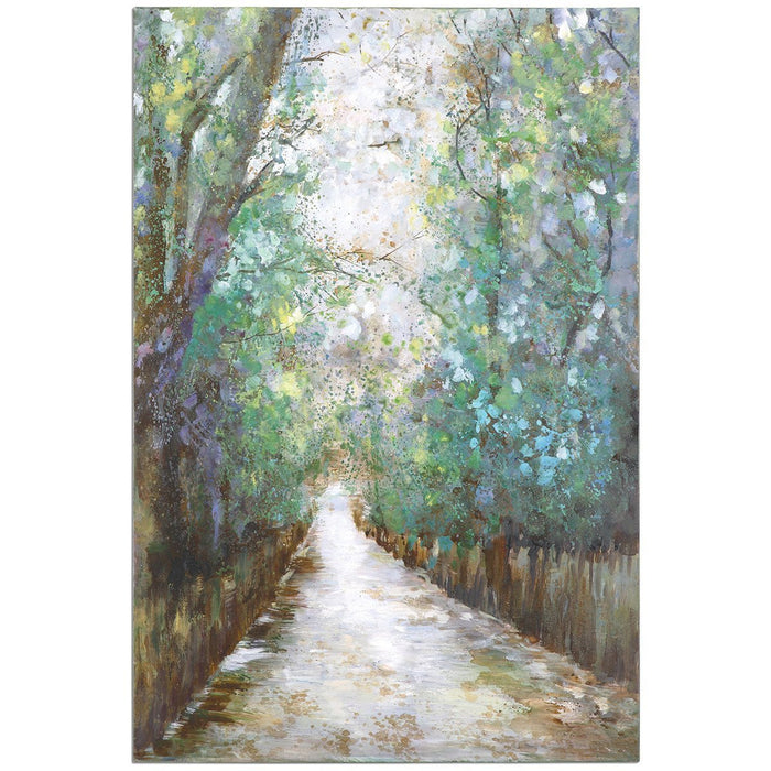 Uttermost Greenway Canvas Art