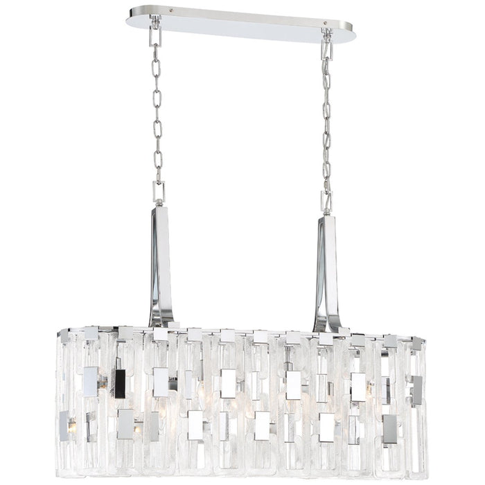 Eurofase Viviana 7-Light Oval Chandelier