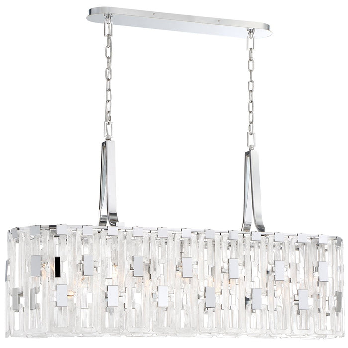 Eurofase Viviana 9-Light Oval Chandelier