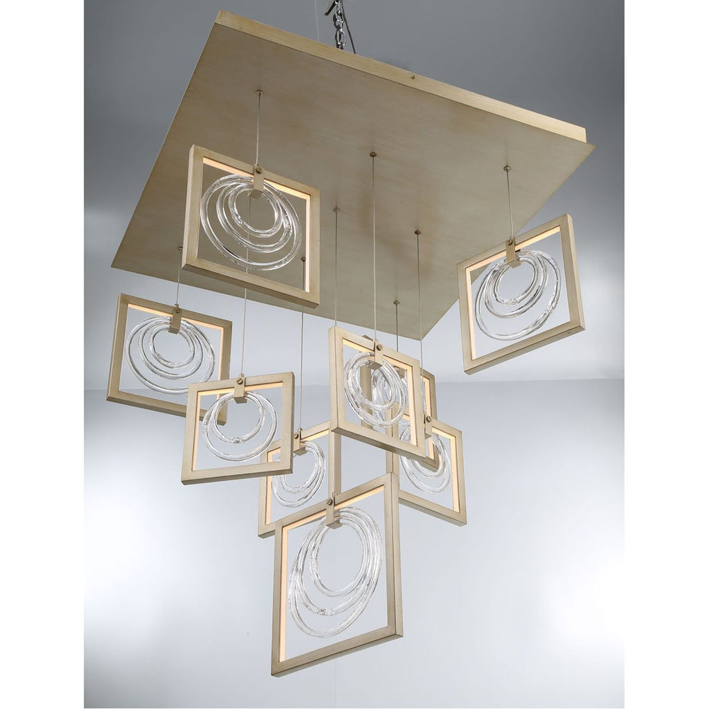 Eurofase Corinna 9-Light LED Chandelier