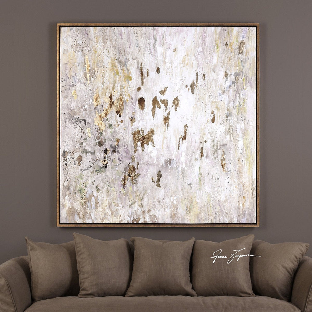Uttermost Golden Raindrops Artwork