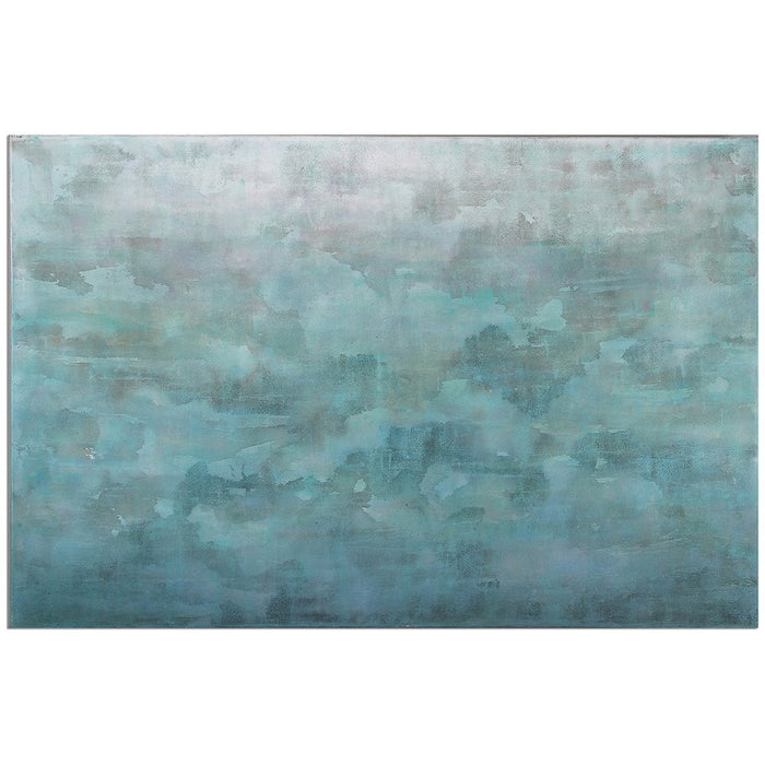 Uttermost Frosted Landscape Canvas Art