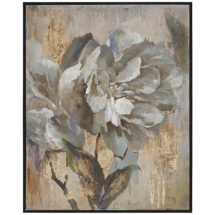 Uttermost Dazzling Black Satin Artwork
