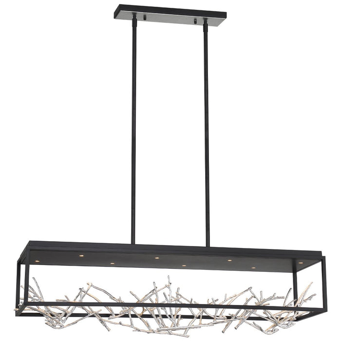 Eurofase Aerie 8-Light Rectangular LED Chandelier