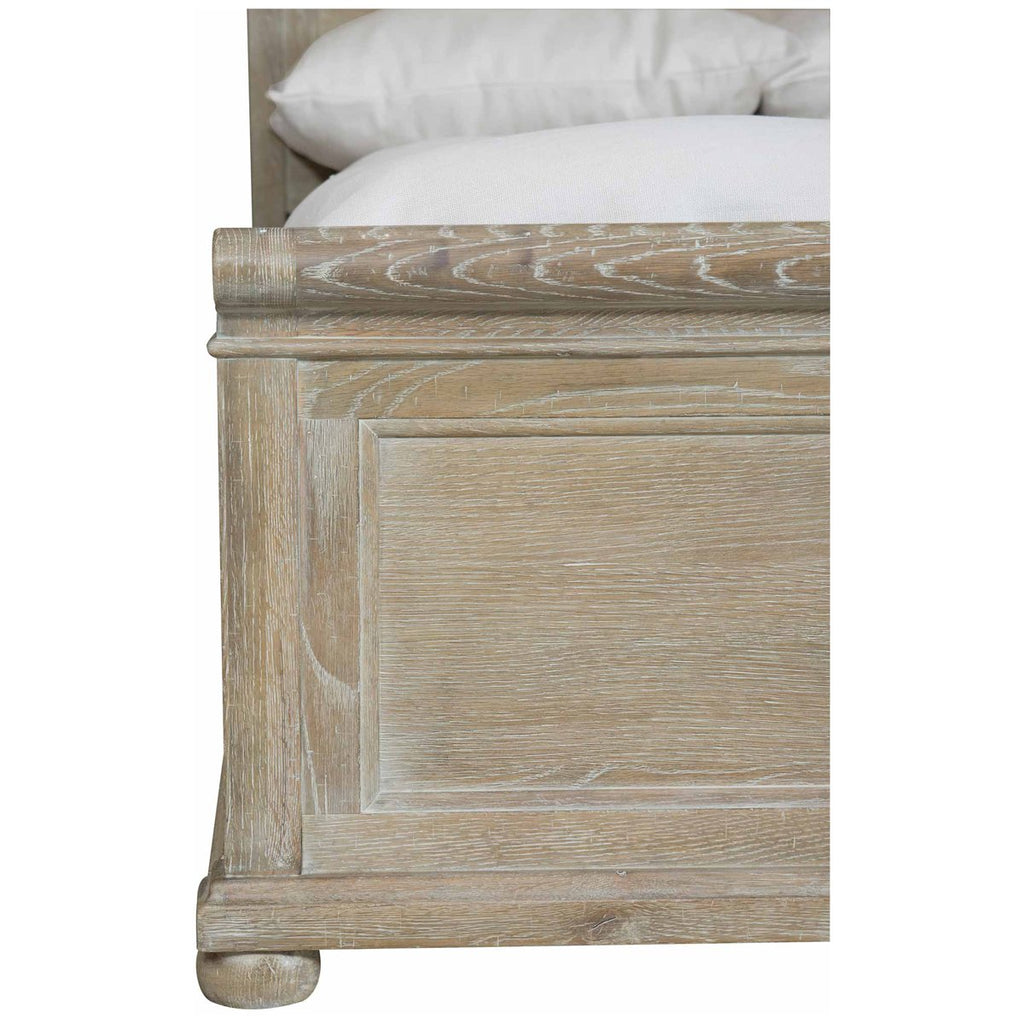 Bernhardt Rustic Patina Panel Bed