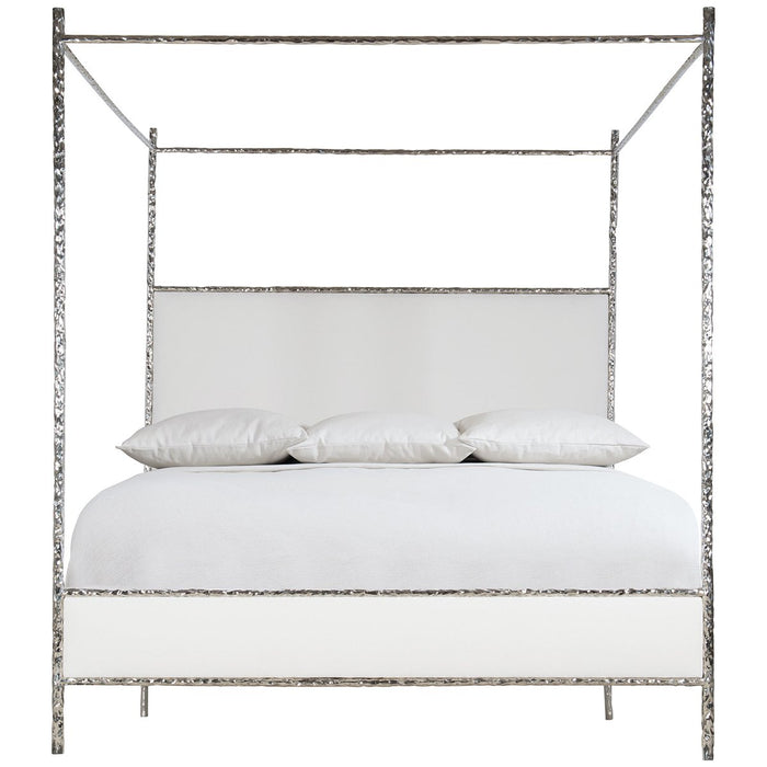 Bernhardt Interiors Odette Upholstered Canopy Bed - King