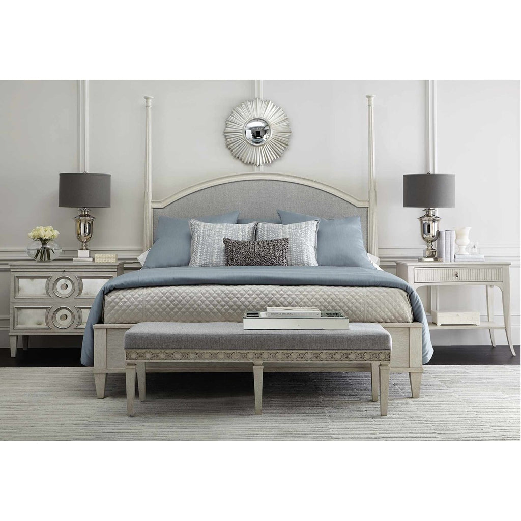 Bernhardt Allure Upholstered Panel Bed