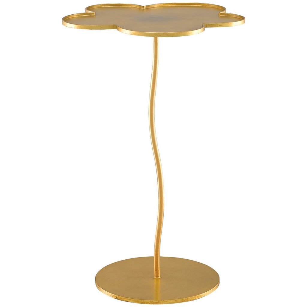 Currey and Company Fleur Accent Table