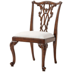 Theodore Alexander Seated in Rococo Splendour Side Chair