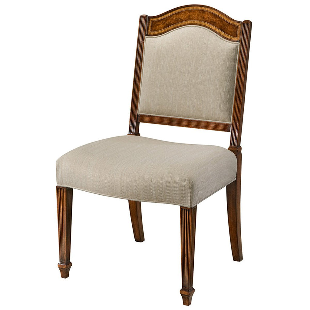 Theodore Alexander Sheraton's Satinwood Chair Set of 2