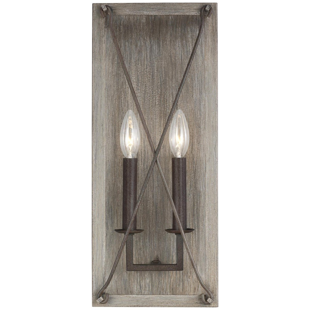 Sea Gull Lighting Thornwood 2-Light Wall/Bath Sconce