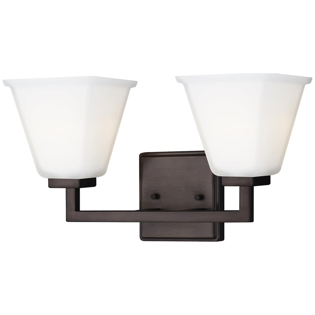 Sea Gull Lighting Ellis Harper 2-Light Bath Light - 9.5W