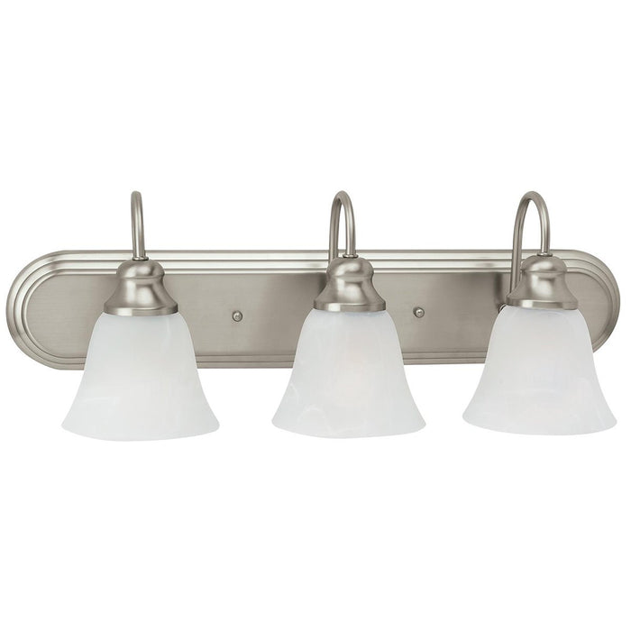 Sea Gull Lighting Windgate Three Lights Wall Bath Sconce